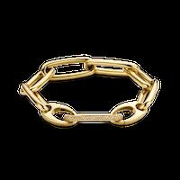 Bracelet Chain Large Brown Diamonds