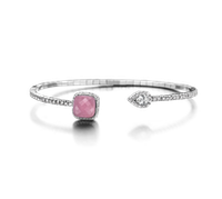 Bracelet Base Classic Small Pink Serpentine